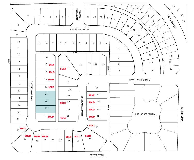 Hamptons 2C Site plan Remcon